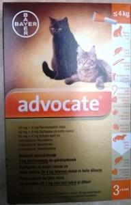 Advocate cat - Házhoz jön az állatorvos